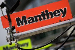 Manthey Racing pit signs