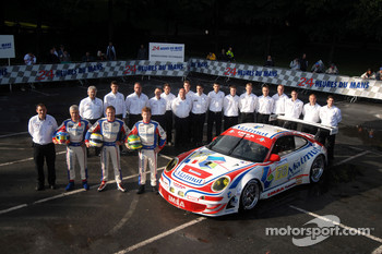 IMSA Performance Matmut team photoshoot