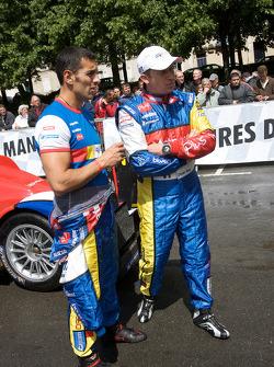 Soheil Ayari and Olivier Panis