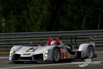 #2 Audi Sport Team Joest Audi R15 TDI: Marco Werner, Lucas Luhr, Mike Rockenfeller