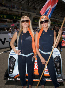 The charming Aston Martin girls