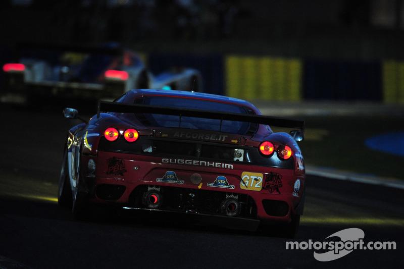 #81 Advanced Engineering Team Seattle Ferrari F430 GT: Patrick Dempsey, Don Kitch Jr., Joe Foster