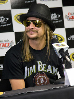 Kid Rock speaks to the media