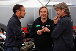 Andreas Zuber talks with his engineers