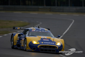 #85 Snoras Spyker Squadron Spyker C8 Laviolette: Jarek Janis, Tom Coronel, Jeroen Bleekemolen