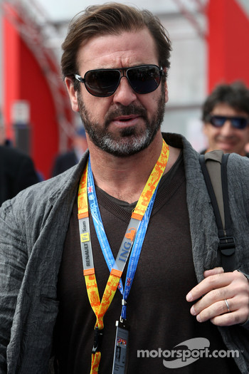 Eric Cantona, actor and former french football player
