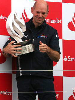 Podium: Adrian Newey, Red Bull Racing, Technical Operations Director