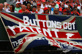 Fan poster for Jenson Button, Brawn GP