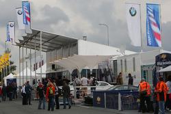 Paddock, BMW Hospitality