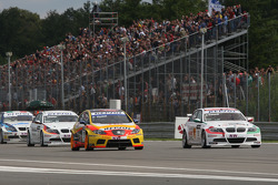 Rickard Rydell, Seat Sport, Seat Leon 2.0 TDI and Alex Zanardi, BMW Team Italy-Spain, BMW 320si
