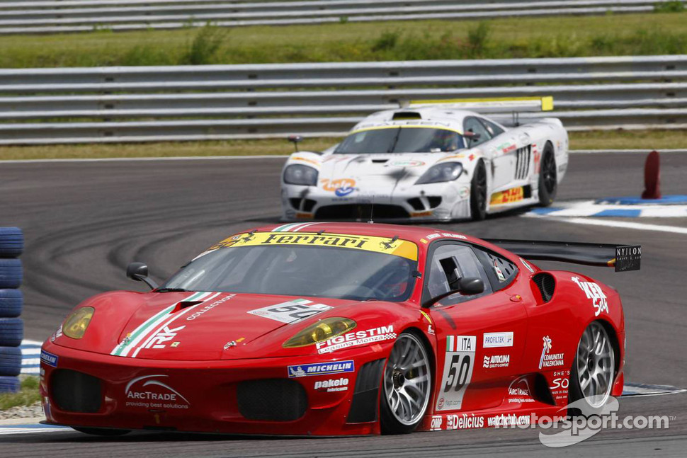 #50 AF Corse Ferrari 430 GT2: Toni Vilander, Gianmaria Bruni