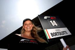 Grid girl for Mirko Bortolotti