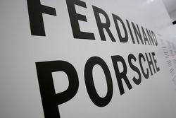Ferdinand Porsche sign