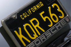 1956 Porsche 356A 1600 S Coupe_: the 10,000th unit has a California license plate