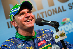 Post-race press conference: race winner Clint Bowyer