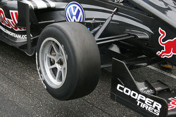 Tyres are worn even before the race starts