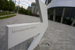 Mercedes-Benz Museum entrance