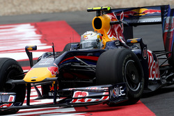 Sebastian Vettel, Red Bull Racing runs off the track