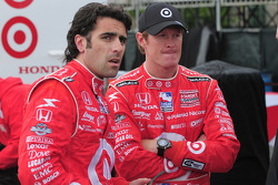Dario Franchitti and Scott Dixon, Target Chip Ganssi Racing