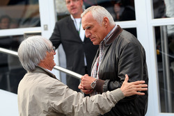 Bernie Ecclestone, Dietrich Mateschitz, Owner of Red Bull