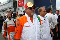 Vijay Mallya Force India F1 Team Owner
