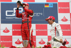 Podium: third place Kamui Kobayashi