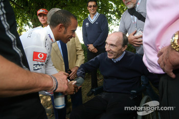 Lewis Hamilton, Frank Williams