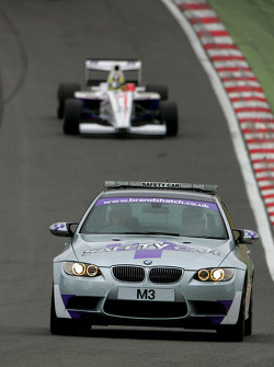 The safety car was deployed