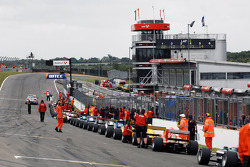 Race 2 was red flagged three times
