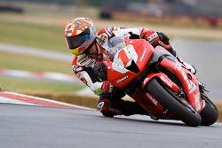 The #72 Foremost Insurance Pegram Racing Ducati 1098R of Larry Pegram