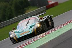 #33 Vitaphone Racing Team DHL Maserati MC 12: Alessandro Pier Guidi, Stéphane Lemeret, Carl Rosenblad, Vincent Vosse