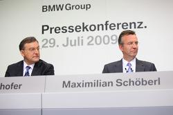 Dr. Norbert Reithofer (chairman of BMW AG), Maximilian Schöberl