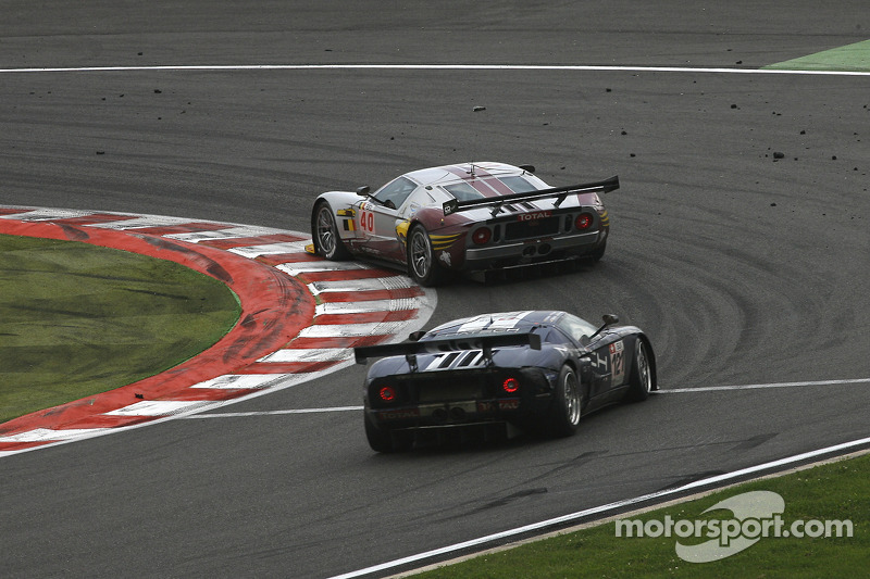#40 Marc VDS Racing Team Ford GT: Eric de Doncker, Bas Leinders, Renaud Kuppens; #121 Matech GT Racing Ford GT: Thomas Mutsch, Maxime Martin, Peter Wyss, Marc Hennerici