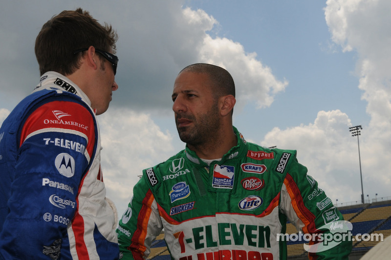 Marco Andretti and Tony Kanaan, Andretti Green Racing