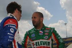 Marco Andretti and Tony Kanaan, Andretti Green Racing