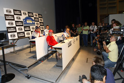 Press conference: Kimi Raikkonen, Sébastien Loeb and Mikko Hirvonen