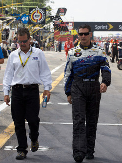 Kevin Buckler and Andy Lally, TRG Motorsports Chevrolet