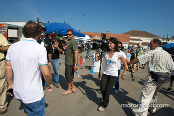Media attention for Jacques Villeneuve