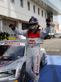 Race winner Martin Tomczyk, Audi Sport Team Abt Audi A4 DTM