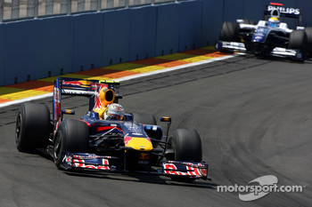 Sebastian Vettel, Red Bull Racing, Nico Rosberg, WilliamsF1 Team