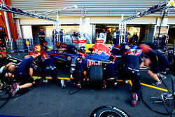 Red Bull Racing, Practice Pitstops