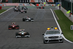 Safety Car after first laps crash