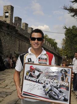 Randy De Puniet, LCR Honda MotoGP visits San Marino