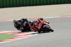 Mika Kallio, Ducati Marlboro Team, Marco Melandri, Hayate Racing Team