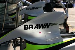 Brawn GP engine cover
