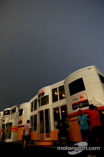 Dark Clouds over Renault F1 Team