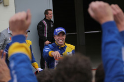 Tom Coronel celebrates in Parc Fermé