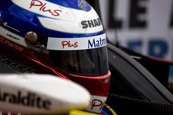 Race winner Olivier Panis enters Parc Fermé