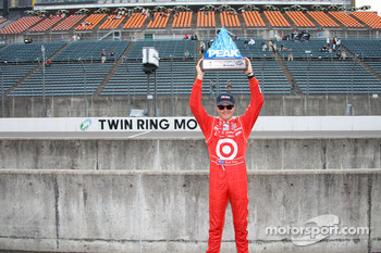 Pole winner Scott Dixon, Chip Ganassi Racing