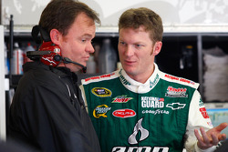 Dale Earnhardt Jr., Hendrick Motorsports Chevrolet with crew chief Lance McGrew